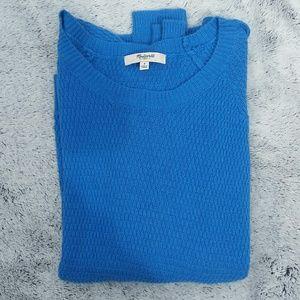 Madewell lightweight sweater blue